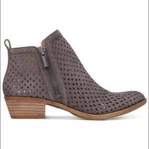Lucky Brand Shoes - Lucky Brand Perforated Basel Booties SZ 10